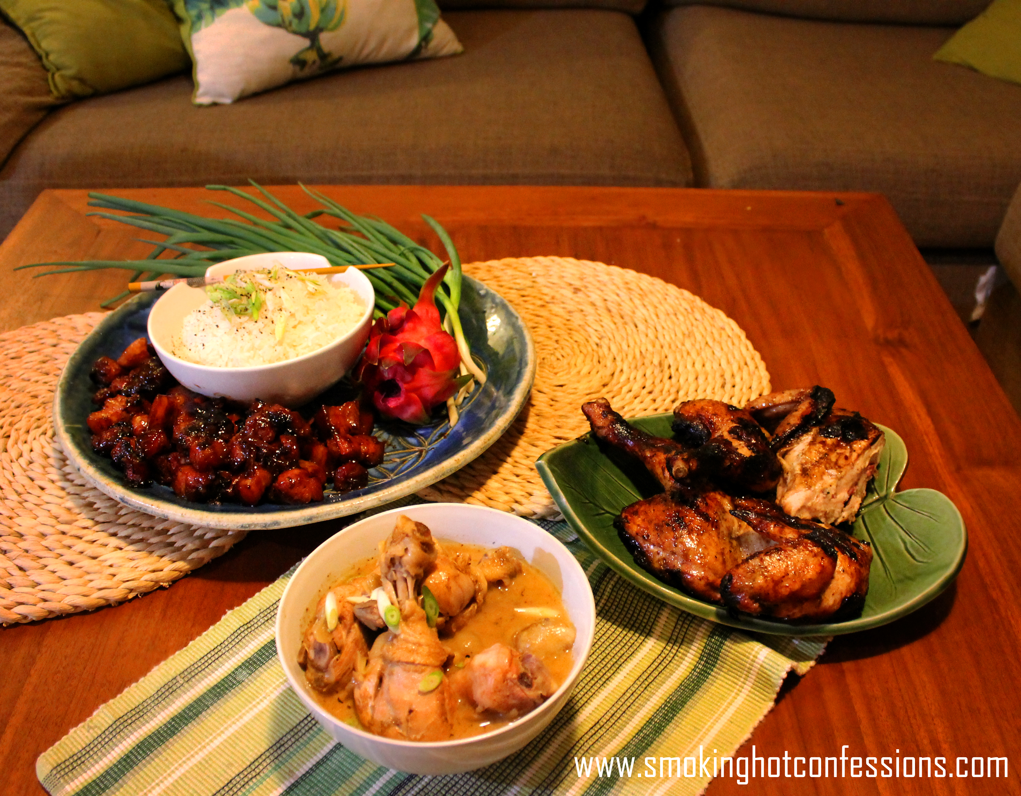 A Banquet for Chinese New Year - 'Gong Hay Fat Choy Everybody!'